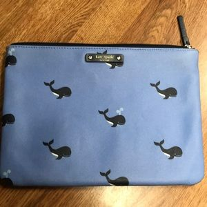 Kate Spade Whales Pouch